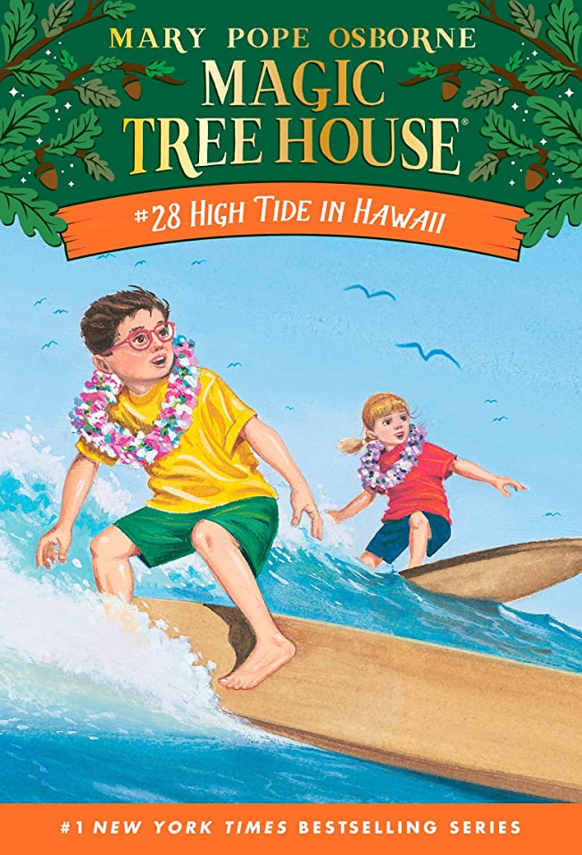 娯楽対水陸両用High Tide in Hawaii (Magic Tree House Book 28) (English Edition)
