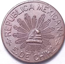 MEXICO 1915 CHIHUAHUA 5 CENTAVOS...FOREIGN COIN