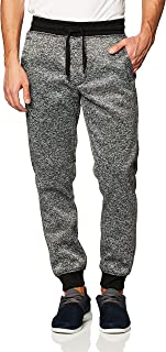 Southpole Men's Basic Fleece Jogger Pant-Reg and Big & Tall Sizes