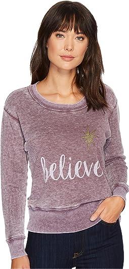 Allen Allen - Believe Sweatshirt