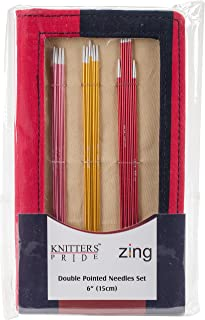 Knitter's Pride KP140303 Zing Double Pointed Needles Set-Socks Kit, Multi