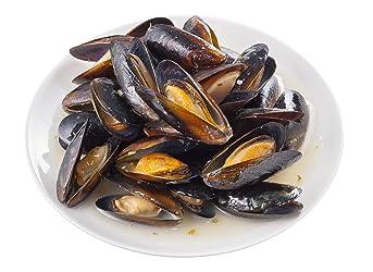 [冷凍] 殻付ボイルムール貝(ガーリックバター味) 454g