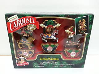 Best mr christmas musical holiday carousel circus animals Reviews