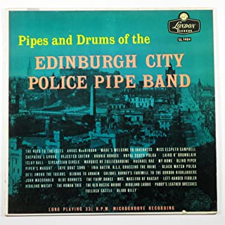 Pipes and Drums of the Edinburgh City Police Pipe Band