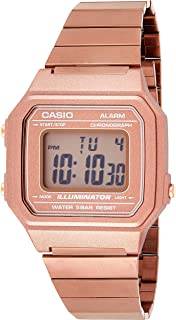 Casio Men's Dial Stainless Steel Band Watch - B650WC-5AEF