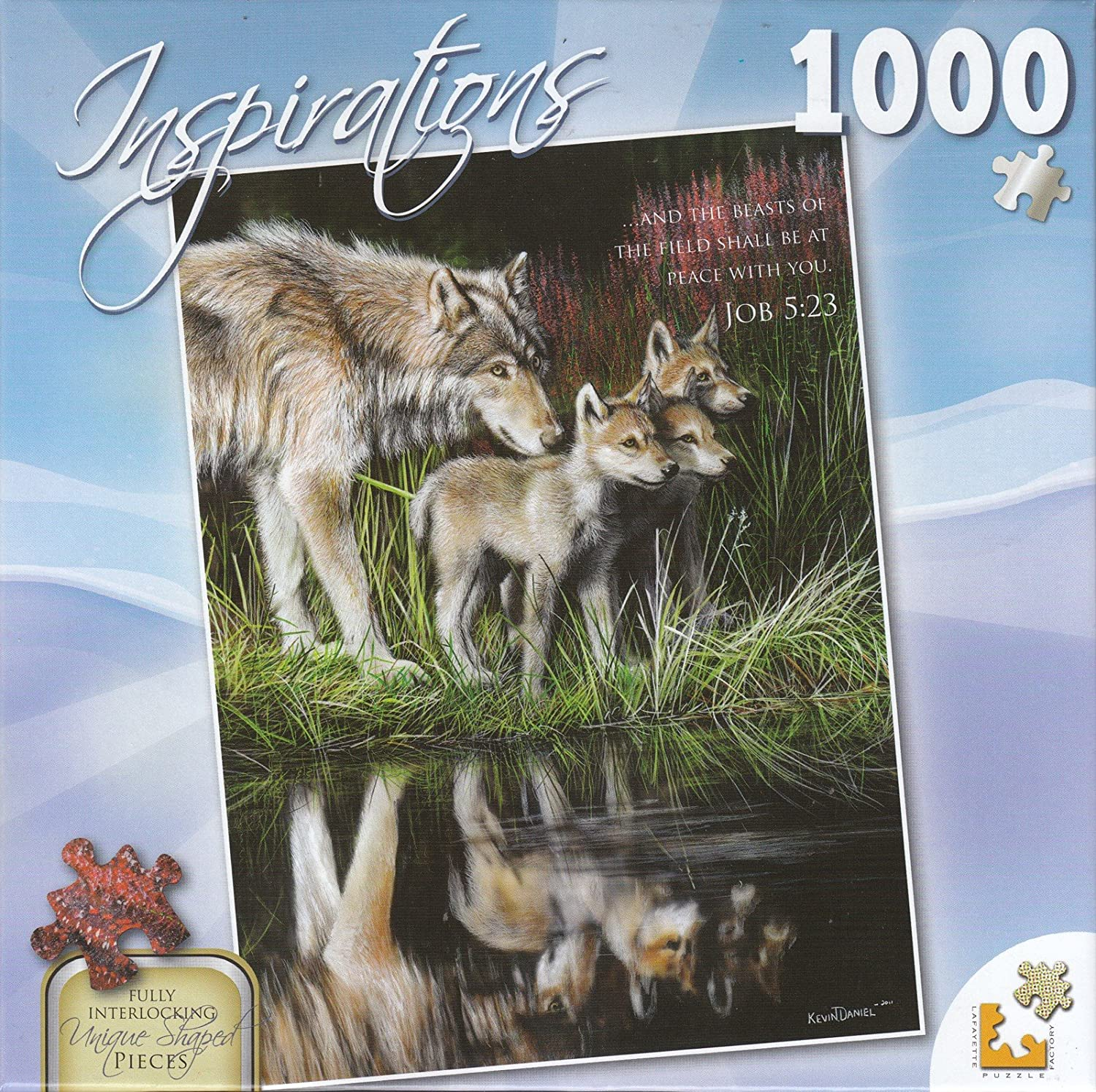 Inspirations 1000 Piece Puzzle  Reflections by Lafayette Puzzle Factory