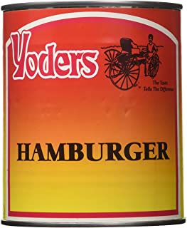 Yoders Canned Hamburger Meat 28oz