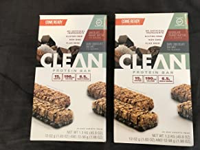 Come Ready Nutrition Clean Protein Bars (2 pack) 48 Total Bars - 24 Chocolate Sea Salt and 24 Chocolate Peanut Butter