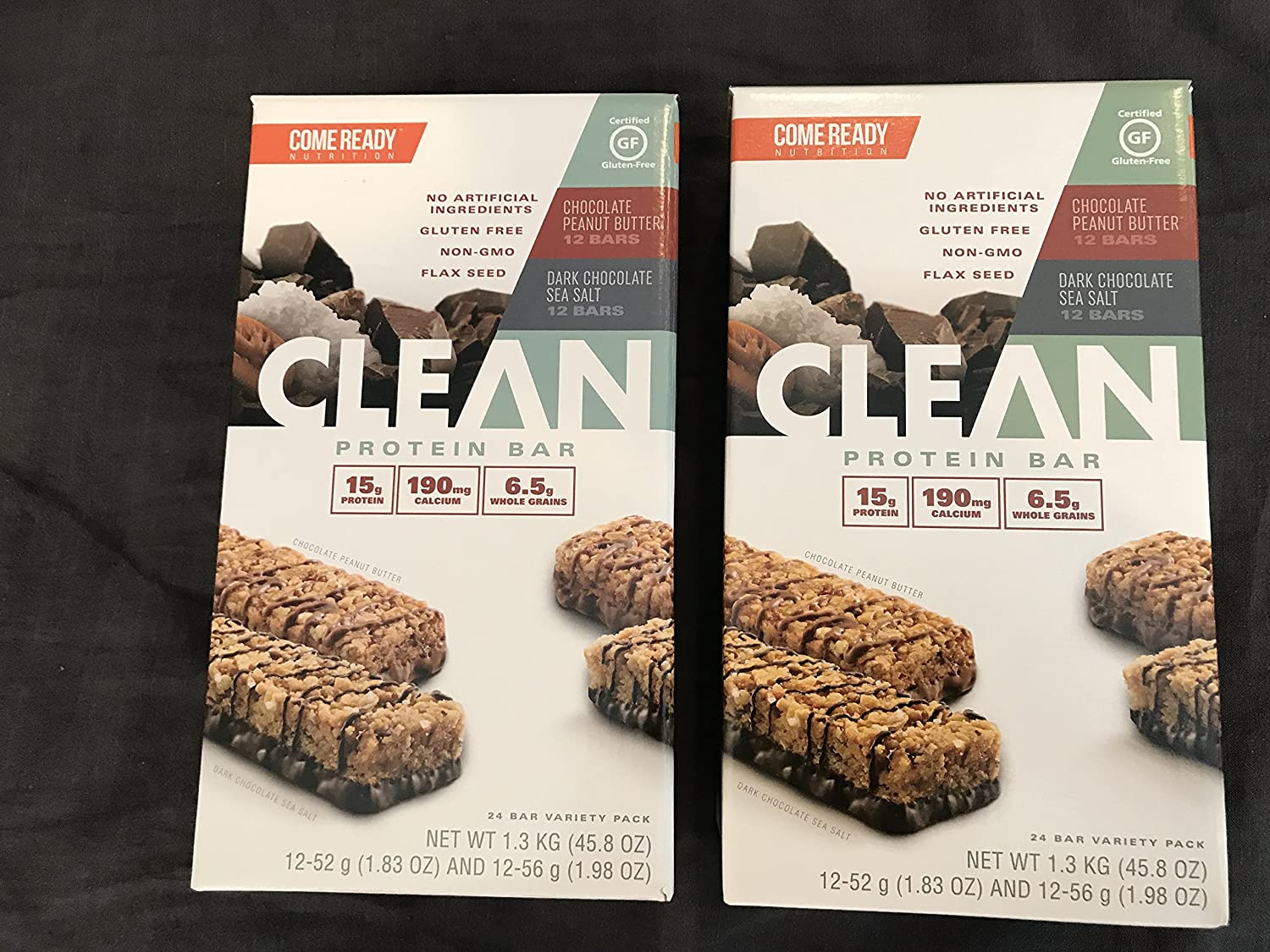 Come Ready Nutrition Clean Protein Max 81% OFF Bars 2 Total 48 pack - Sale price