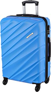 United Colors of Benetton Roadster Hardcase Luggage ABS 68 cms Sky Blue Hardsided Check-in Luggage (0IP6HAB24B02I)