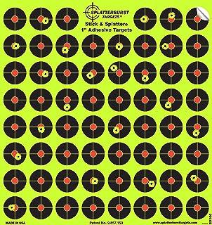 comprar comparacion Splatterburst Targets – 10 Unidades de 2,54 cm Stick & Splatter Autoadhesivo Reactive Disparos – Pistola – Rifle – Pistola...