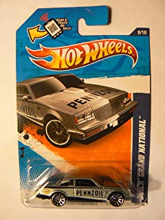 Hot Wheels HW Performance '11 9/10 Buick Grand National Grey on Scan and Track Card