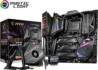 MSI MEG X570 Godlike - Placa Base Enthusiast Gaming (Chipset AMD X570, DDR4, Core Boost, Intel Lan, Socket AM4, Wi-Fi, Sop...