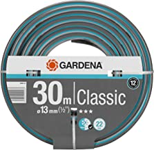 "GARDENA Classic slang 13 mm (1/2"") 30 m: Universele kruisgeweven tuinslang, 22 bar barstdruk, druk- en uv-bestendig (1800..."