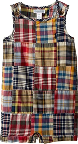 Cotton Madras Shortall (Infant)