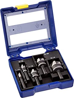 IRWIN Countersink Drill Bit Set for Metal, 5-Piece (1877793)