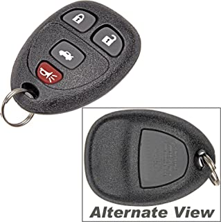 APDTY 112661 Key-less Entry Remote Key Fob Transmitter Assembly (View Description For Years) Buick Lacrosse / Chevy Cobalt / Malibu / Pontiac G5 /G6 / Grand Prix / Solstice / Saturn Aura / Sky (Dealership Programming Is Required) (Replaces 15252034)