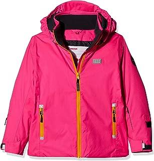 Lego Wear Girls Lego Lwsiam 706-Fleecejacke Jacket Pink 116 Dark Pink 496