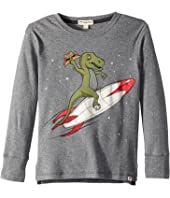 Appaman Kids - Super Soft Rex Rocket Long Sleeve Tee (Toddler/Little Kids/Big Kids)
