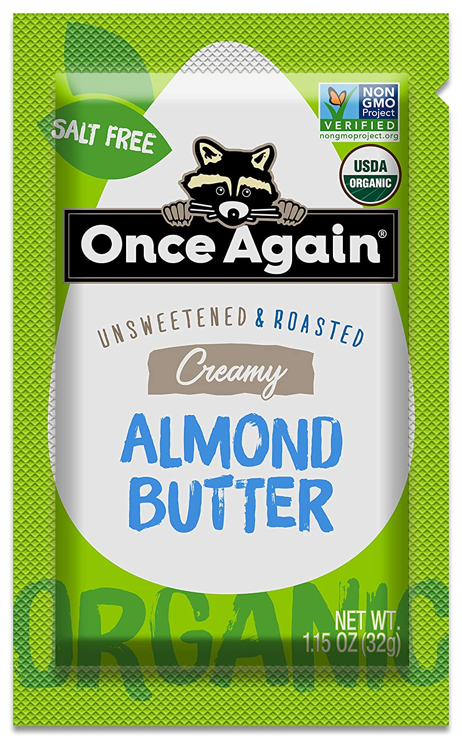 Once Again Organic Almond 10 Butter Very popular Classic Original Count