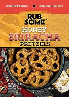 Rub Some Honey Sriracha Pretzels - BBQ Goodness