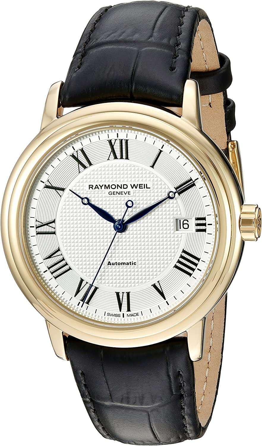 Raymond Weil Men's 2837-Pc-00659 Max Ranking TOP18 40% OFF Silve Stainless Steel Automatic