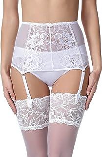 Liguero de Encaje Lencería Sexy Ropa Interior Mujer MSKS912