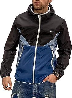 Jack & Jones Colour Blocking Casual Streetwear Men's Hooded Jacket