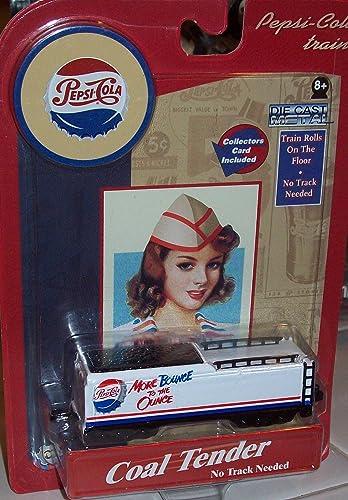 seguro de calidad Pepsi Cola Trains COAL COAL COAL TENDER Die Cast Metal  marca famosa