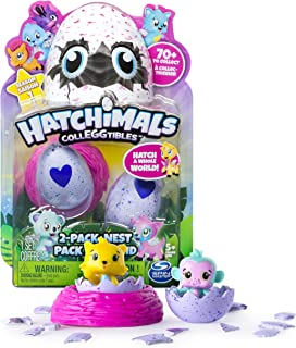 Hatchimals Colleggtibles Season 1 2 pack with Nest