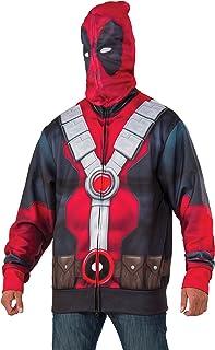 Rubie's Costume Co Marvel Men's Deadpool Costume Hoodie
