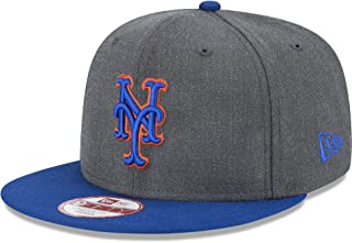 outlet store 82e65 bbdad New Era MLB Heather Graphite 9FIFTY Snapback Cap