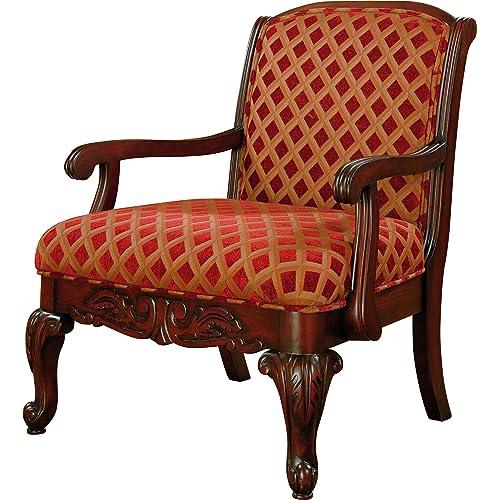 Antique Accent Chair Amazon Com