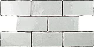 SomerTile WCVASM Antigue Special Milk Ceramic Wall Tile, 3