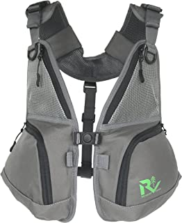 Revamp Gear Front Pack wear Alone and Pairs with Backpacks and Hydration Packs. Hiking, Biking, Camping, Skiing, Snowboarding or as a Fly Fishing Vest.