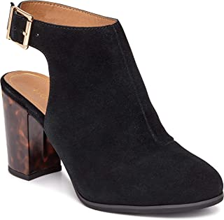 Women's Perk Lacey Ankle Strap Bootie - Ladies Boots with Concealed Orthotic Arch Support