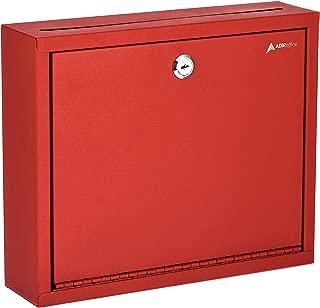 AdirOffice Multi Purpose, Mailbox, Drop Box, Suggestion Box, Wall Mountable, 3
