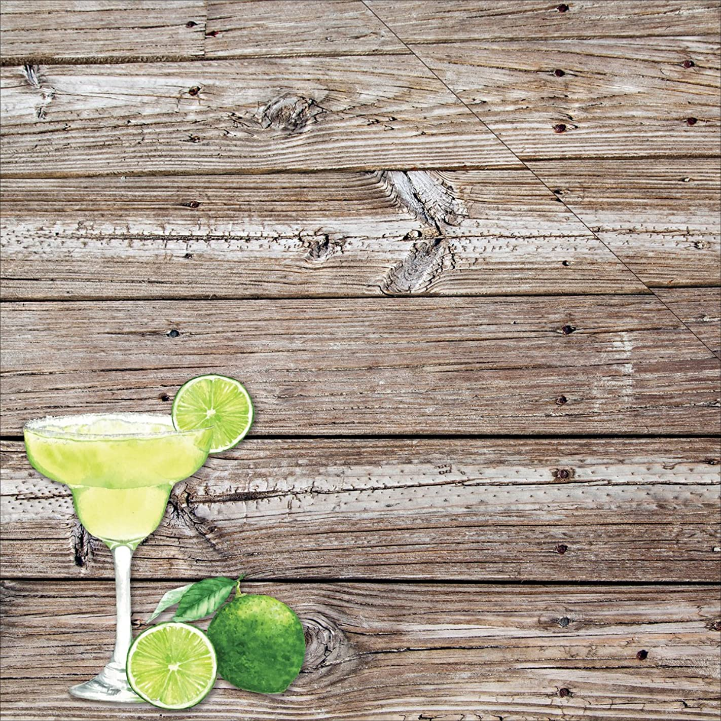 Reminisce SHP-002 25 Sheet Margarita Party Shipwreck Club Double-Sided Cardstock, 12