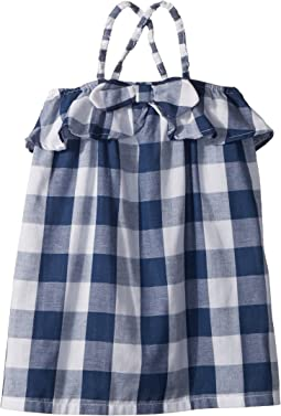 Gingham Sleeveless Sun Dress (Infant/Toddler)
