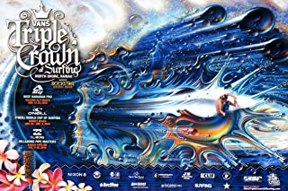 Official 2010 Triple Crown of Surfing North Shore Hawaii Surfing Contest Poster