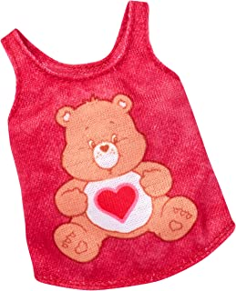 Barbie Care Bears Red Top Fashion Pack