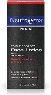 Neutrogena Triple Protect Men's Daily Face Lotion, 1.7 fl oz