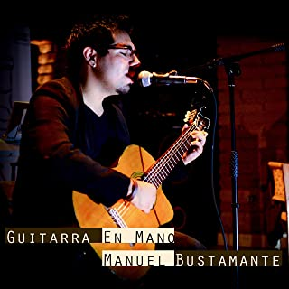 guitarra a mano