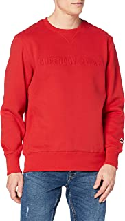 Superdry Sportstyle Emboss Crew Sudadera Skateboarding para Hombre