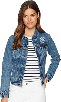Levi's® Womens Seattle Mariners Denim Trucker Jacket