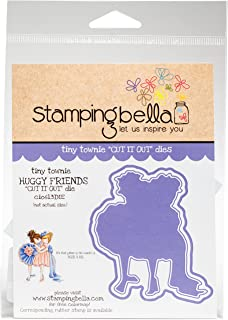 Stamping Bella Tiny Townie-Huggy Friends Cut It Out Dies