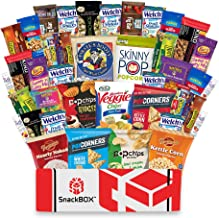 Healthy Snacks Care Package Snack Box (40 Count) for College Students, Exams, Finals, Halloween, Gift Basket, Gift Ideas, Get well, Military, Deployment, with Chips, Cookies, Granola Bars and Nuts