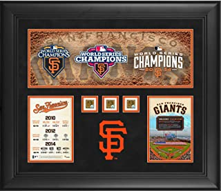 San Francisco Giants Framed Three World Series Titles in Five Years 20