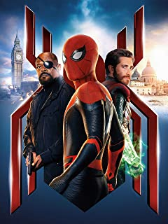 spider man poster far from home