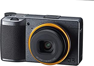 RICOH GR III Street Edition Metallic Gray APS-C size Digital camera with large CMOS sensor GR lens that achieves high reso...
